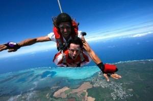 Mauritius skydive