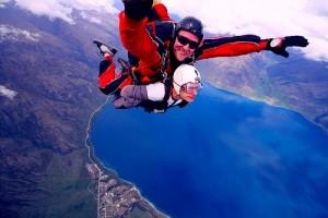 New Zealand skydive