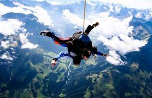 Switzerland skydive