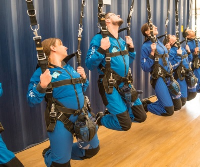 Practising manouvres industry leaders in safety training goskydive