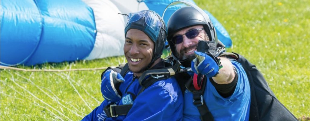 customer experience skydiving cost