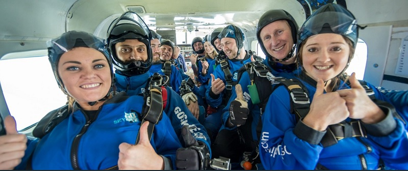 customer experience how much skydive